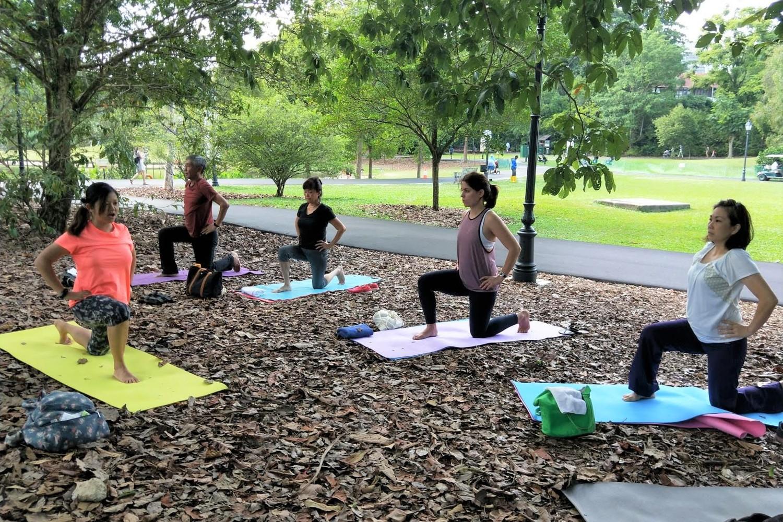 Namaste with Hwee - Hatha Yoga, Flow and Prenatal Classes!