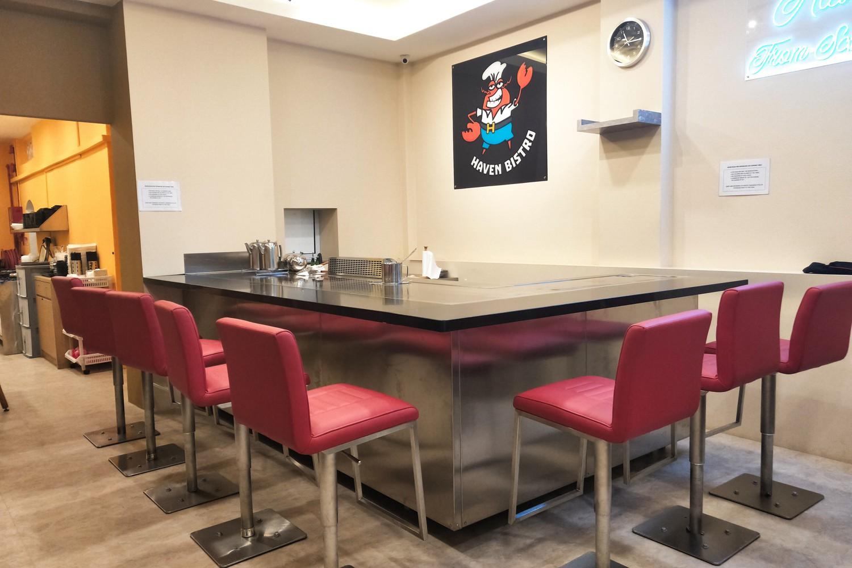 Teppanyaki Bar @Haven Bistro